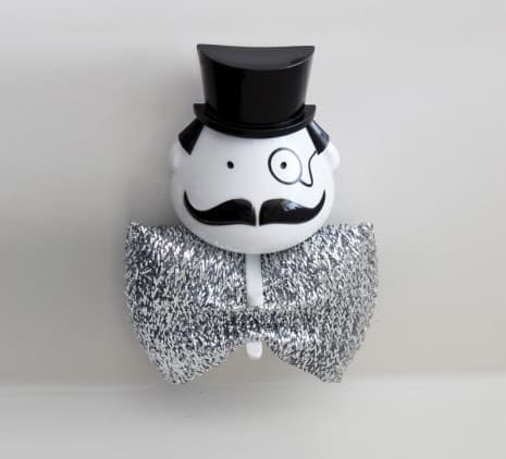 Peleg Design Mr Sponge Sponge Holder Silver