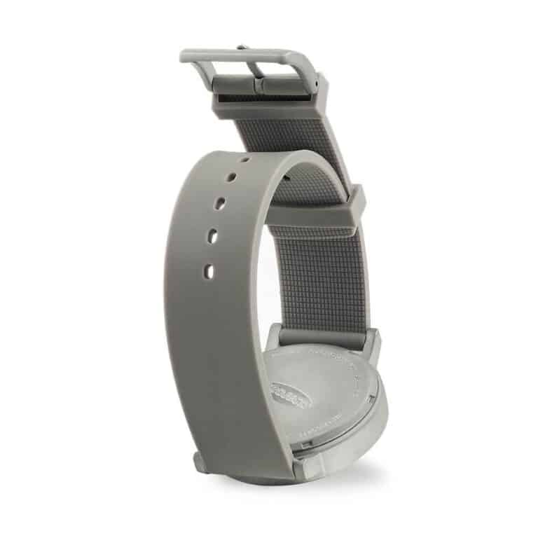 Project Watches Terra Time Watch Gray Strap Detail