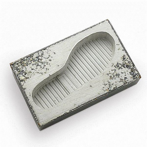 Pull+Push Concrete Foot Ashtray Interesting Conversation Piece