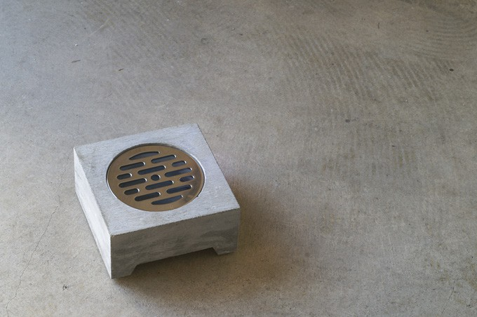 Pull+Push Concrete Hasui Planter Cool Gray Pot