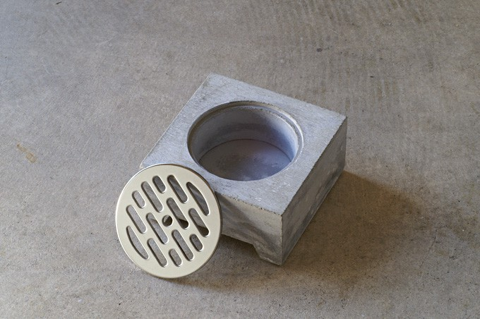 Pull+Push Concrete Hasui Planter Cool Japanese Creation