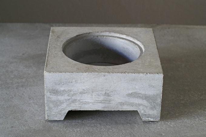 Pull+Push Concrete Hasui Planter Minimalist Pot