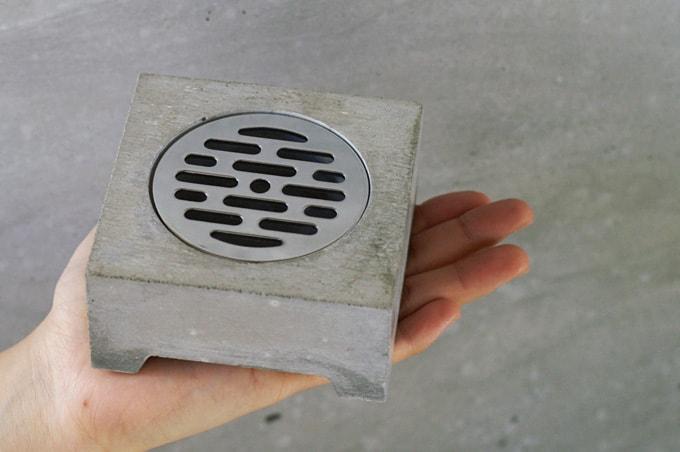 Pull+Push Concrete Hasui Planter Modern Pot