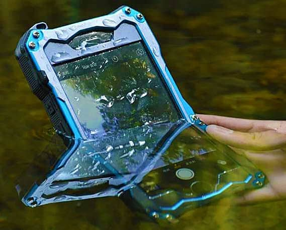 R-Just IP68 Fully-Sealed iPhone Shell Water Proof