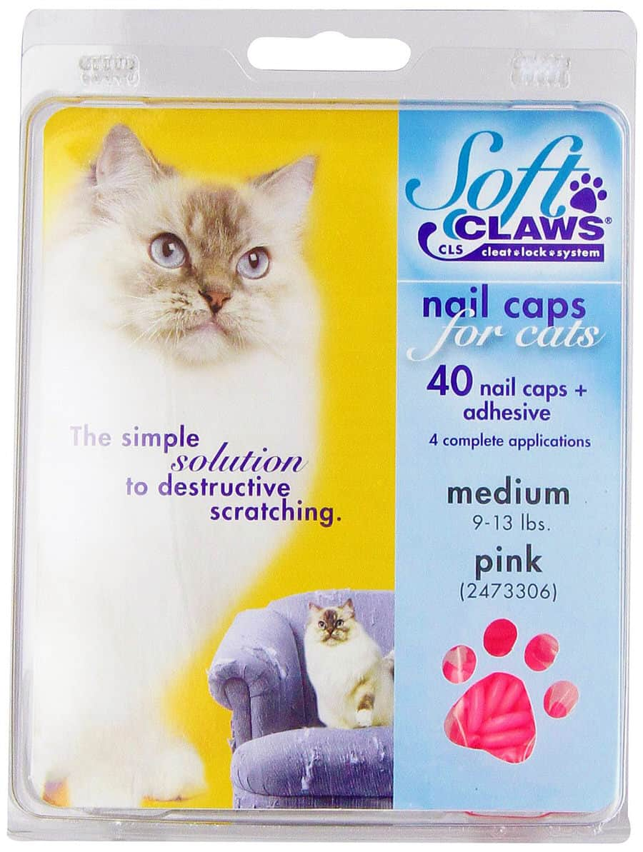 Soft Claws Cat Nail Caps Avoid Cutting Nails