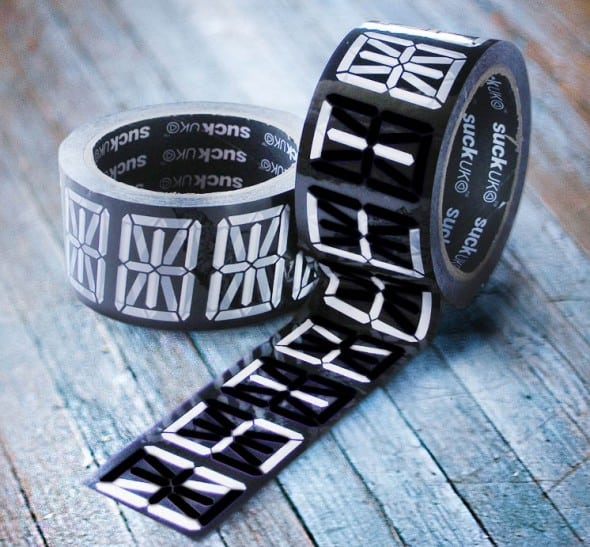 Suck UK Black-out-Unwanted-Lines Message Tape Cool Novelty Item to Buy