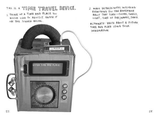 This Is Not a Book  Time Trave Device Page