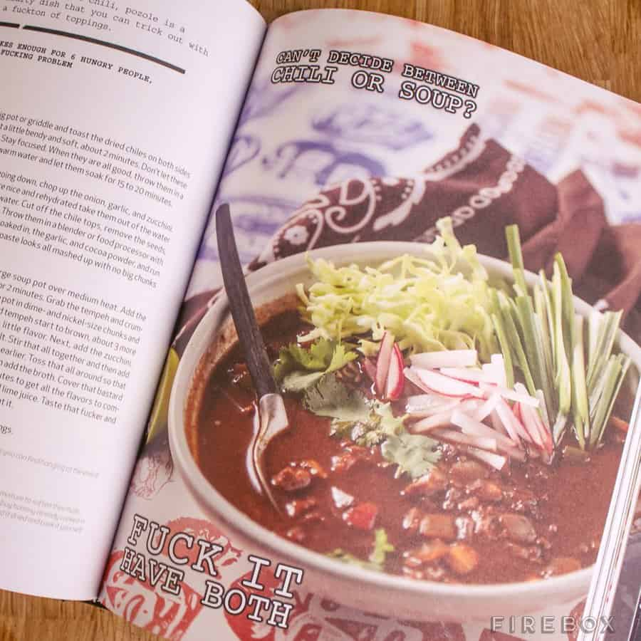 Thug Kitchen The Official Cookbook Chili Page