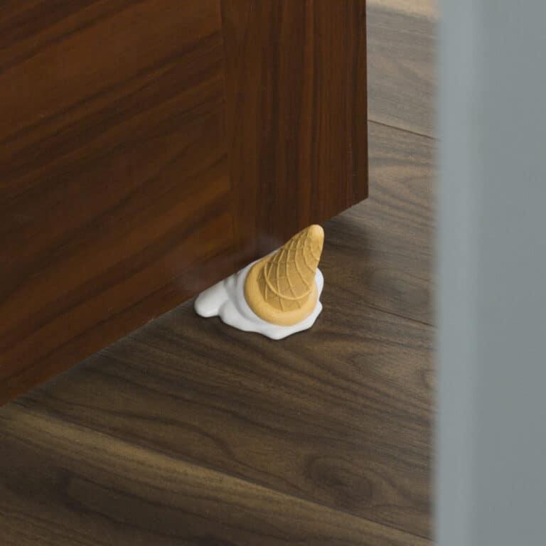 Thumbs Up Ice Cream Cone Door Stopper Bedroom Accessory
