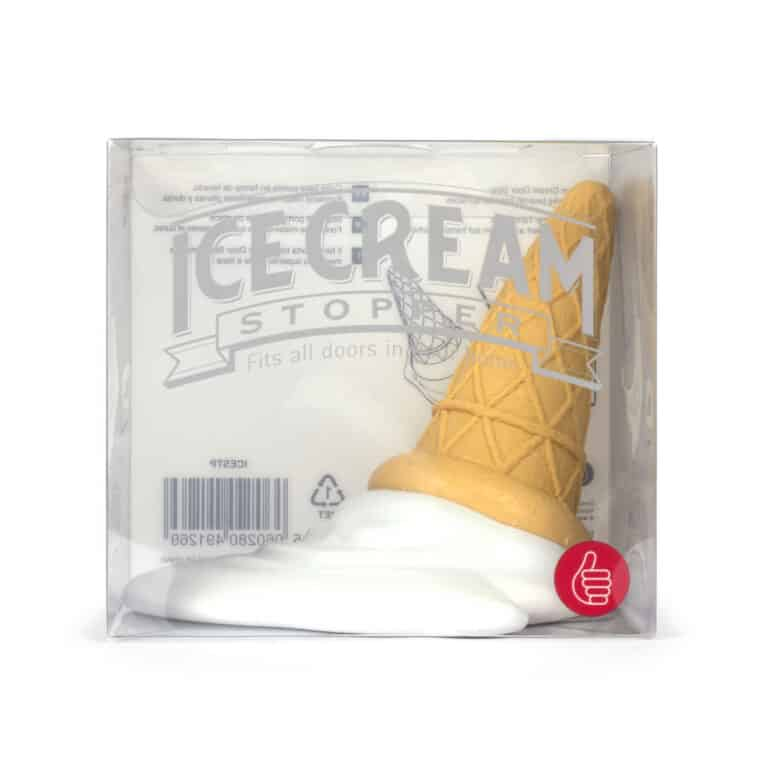 Thumbs Up Ice Cream Cone Door Stopper Clear Box