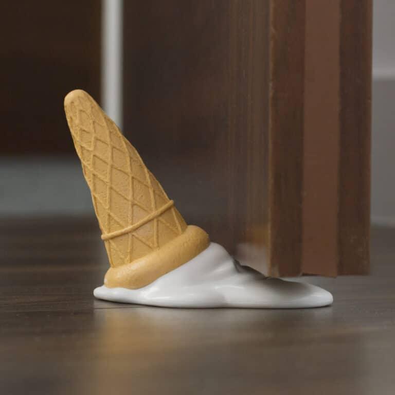 Thumbs Up Ice Cream Cone Door Stopper Creative Design