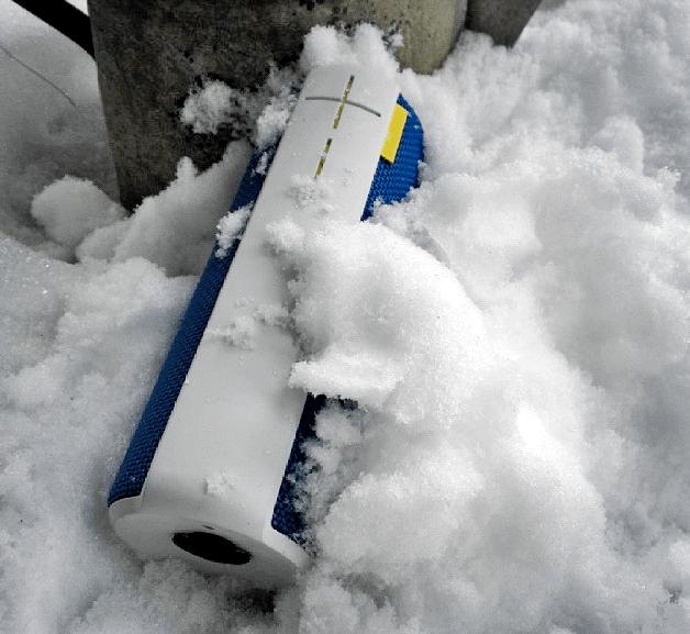 UE BOOM Wireless Bluetooth Speaker  Snowproof Gadget