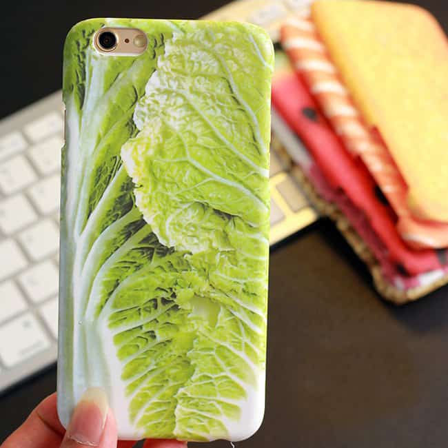iPhone Cabbage Case Novelty Food Themed Protector