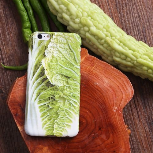 iPhone Cabbage Case Novelty Kitchen Themed Protector