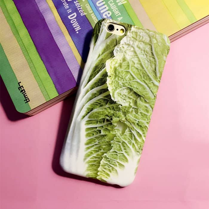 iPhone Cabbage Case Salad Lover Protector