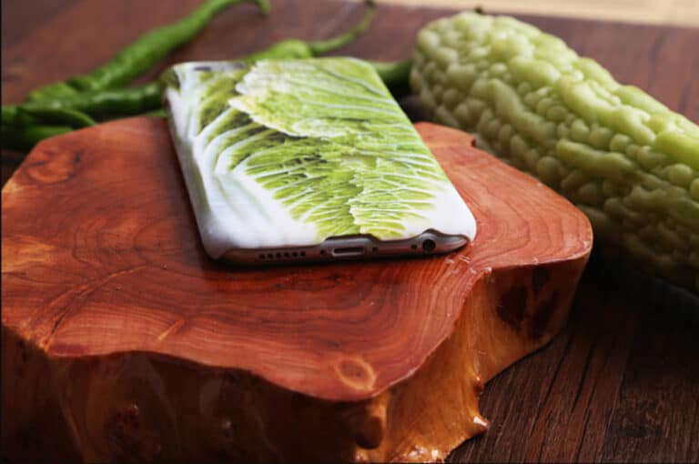 iPhone Cabbage Case Shaped Cut