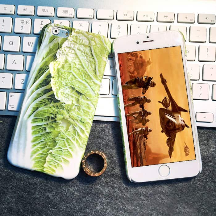 iPhone Cabbage Case Vegetarian Iphone Case