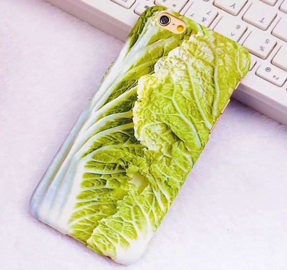 iPhone Cabbage Case Weird Phone Accessory to Buy