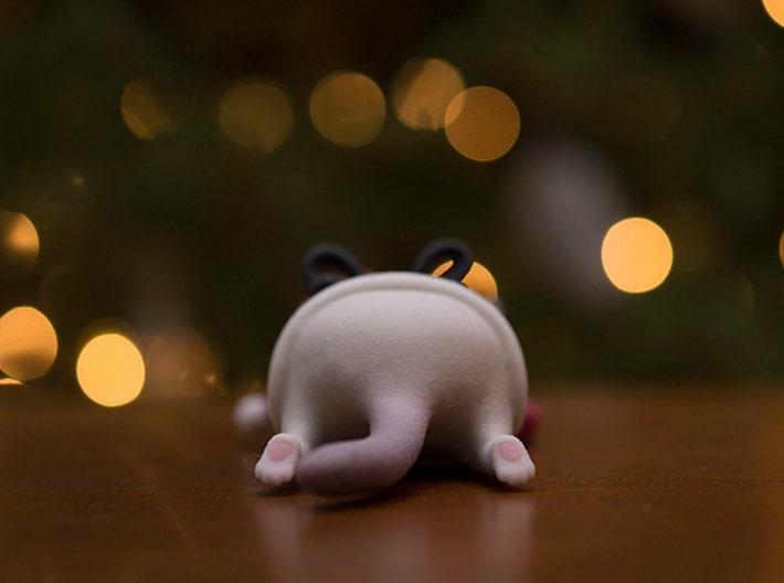 3D Printed Grumpy Cat Christmas Edition Butt Shot