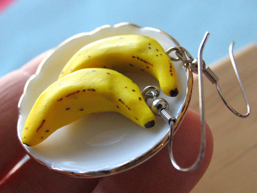 A Little Awesome Banana Earrings Buy Cool Gift for Her
