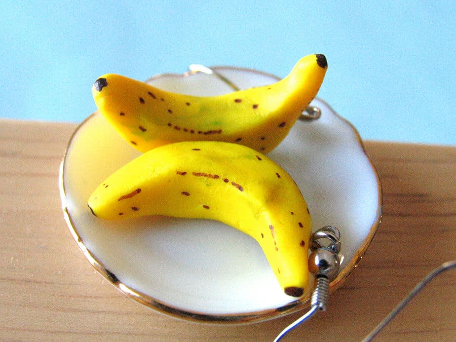 A Little Awesome Banana Earrings Cute Accessory to Buy