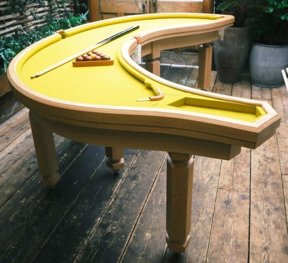Banana Pool Table Eccentric Furniture to Buy