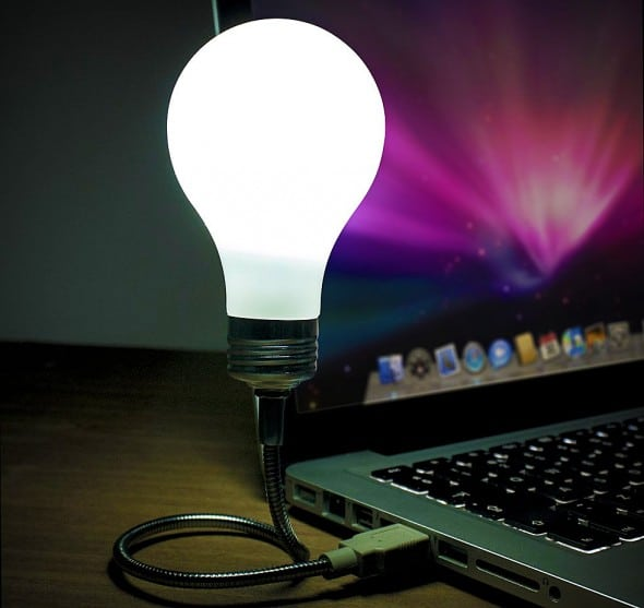 Bright Idea USB Light Bulb Cool Stuff to Buy