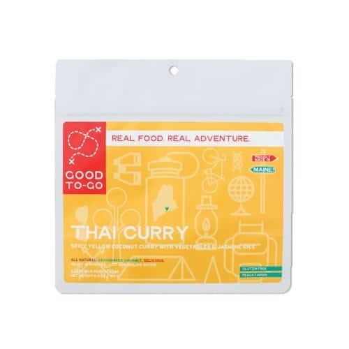 Good To-Go Dehydrated Thai Curry Meal Sachet