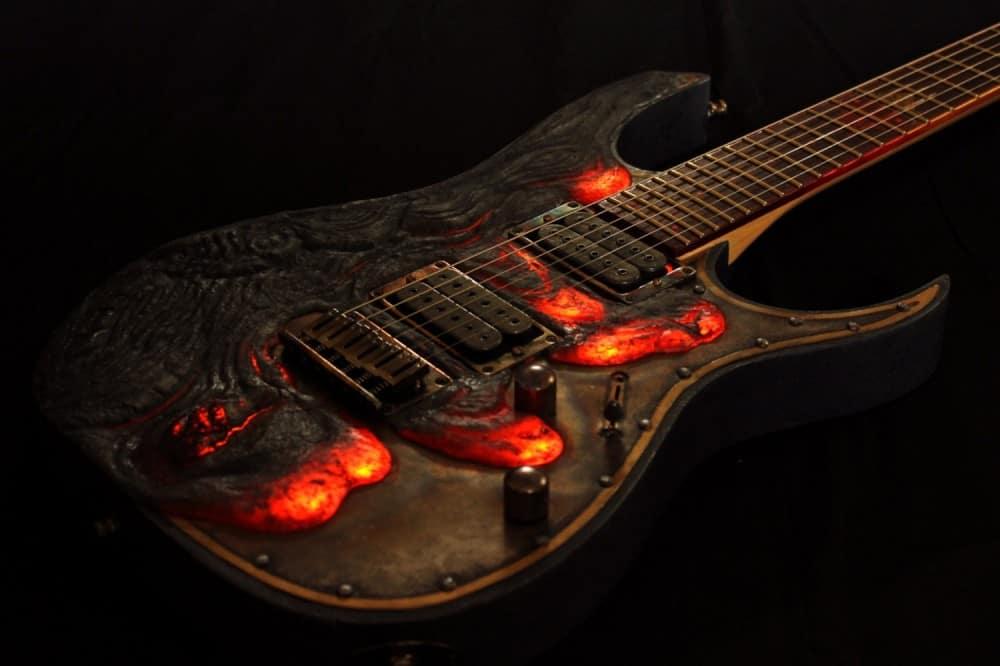 Hutchinson Guitars Molten Diabolic Guitar Buy for Musical Boyfriend