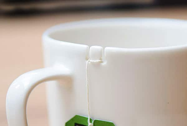 Keep your tea bag in place.