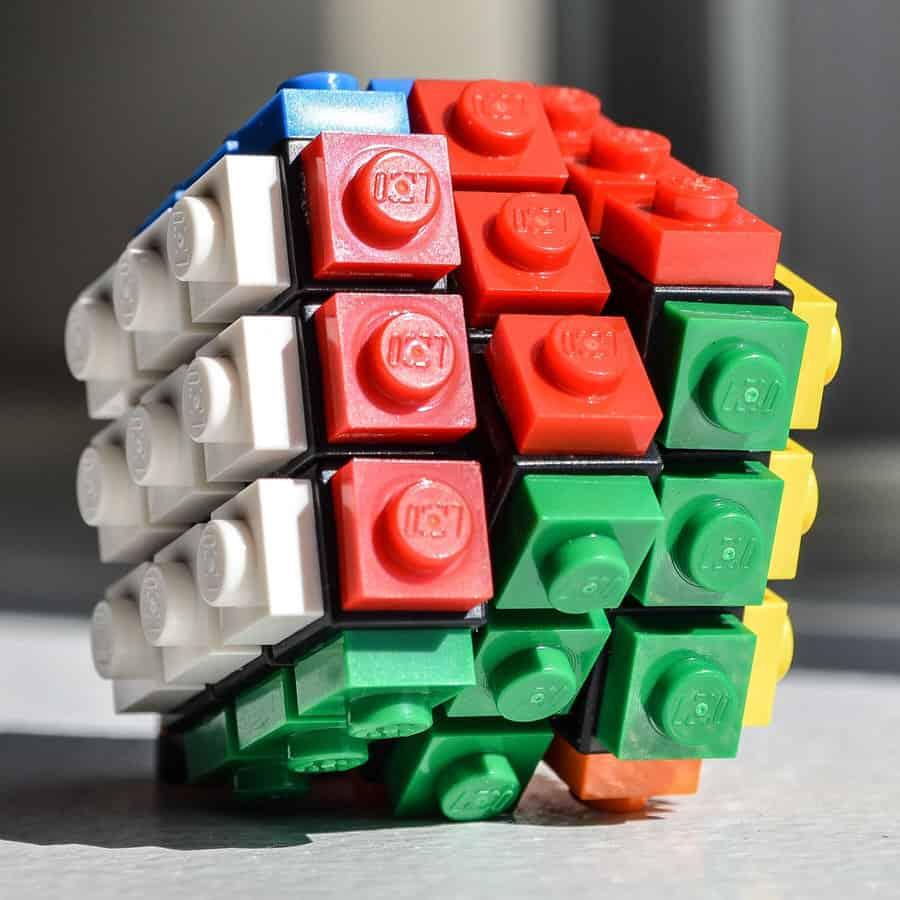 Lego Twisting  Rubrick Puzzle Cube Unique Gift Idea to Buy