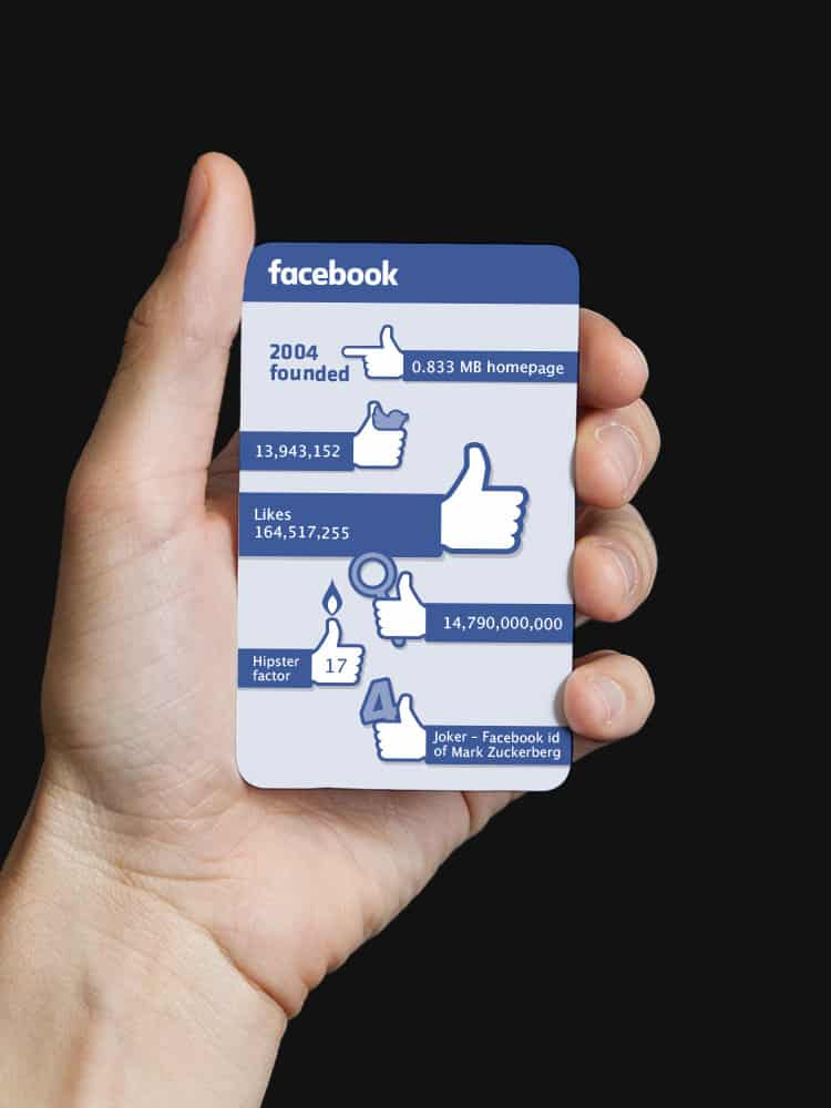 MJOM Web Trump Cards Facebook Stats Board Game