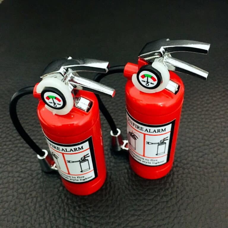 Mini Fire Extinguisher Lighter and Flashlight Firefighter Related Product