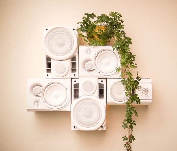 Musical Furnishings Modular HiFi Wall Sculpture Buy Dorm Room Fixture