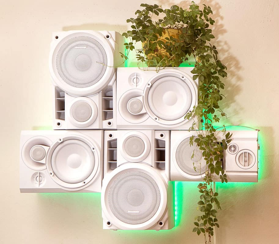 Musical Furnishings Modular HiFi Wall Sculpture Cool Room Decoration