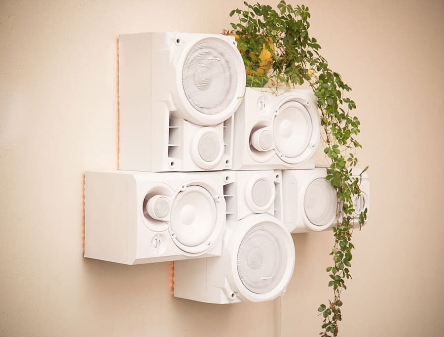 Musical Furnishings Modular HiFi Wall Sculpture Hipster Design