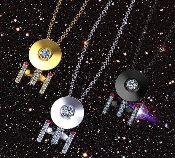 Paul Michael Design Boldly Going Around Your Neck Necklace Star Trek Fan Gift Idea