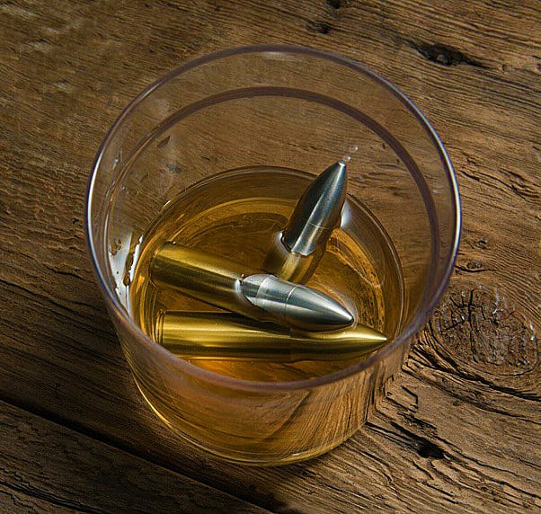 Chilled bullets in your whiskey?