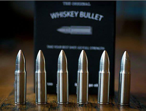 Sip Dark Custom Engraved Whiskey Bullet Dad Gift Idea