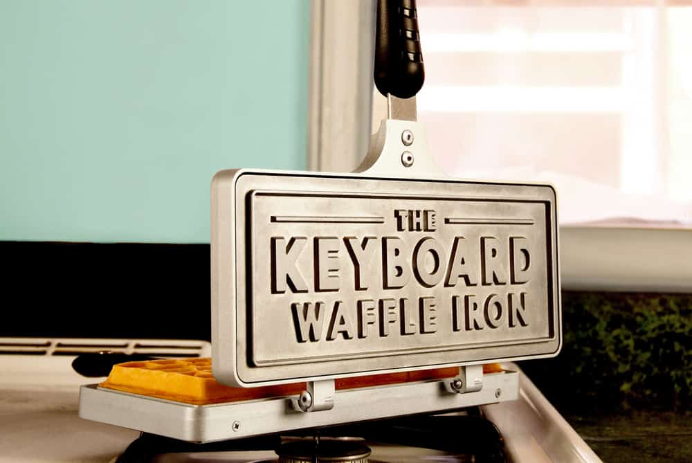 The Keyboard Waffle Iron Awesome Stuff to Buy