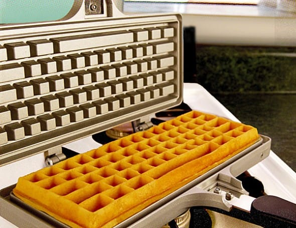 The Keyboard Waffle Iron Buy Cool Kitchen Gadget Online
