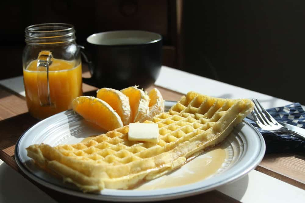 The Keyboard Waffle Iron Delicious Breakfast
