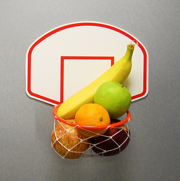 Thumbs Up Basketball Fridge Magnet Buy Useless Stuff for Kitchen