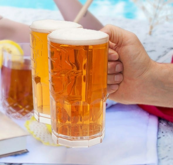 Two-Fisted-Drinker-Hand Buy Cool gift for Dad