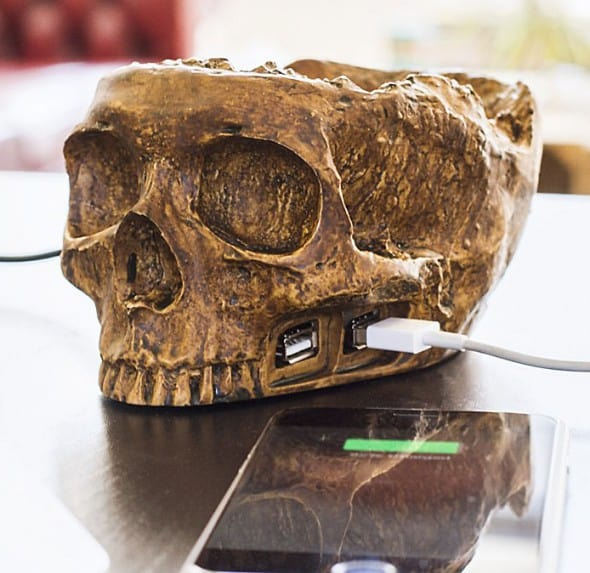 USB Skull Hub Buy Techie Cool Gift