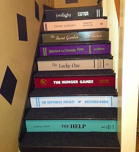 VIP Decals Book Decals for Stair Risers Buy Gift for Book Lovers