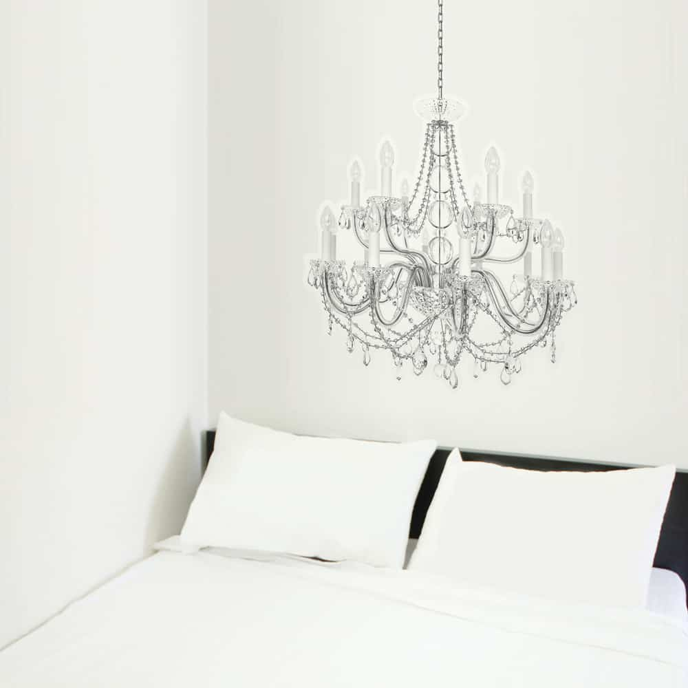 i3Lab Luminous Chandelier Deco Sticker Bedroom Wall Art