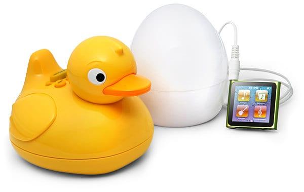 iDuck Bathtub Music Player Funny Gift Idea