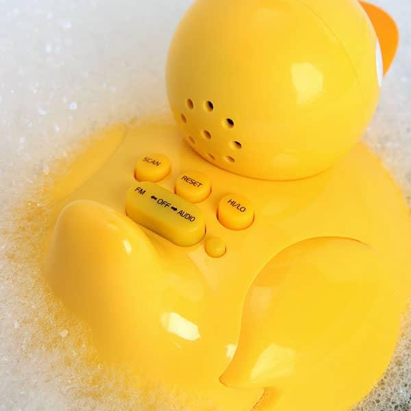 iDuck Bathtub Music Player Novelty Item