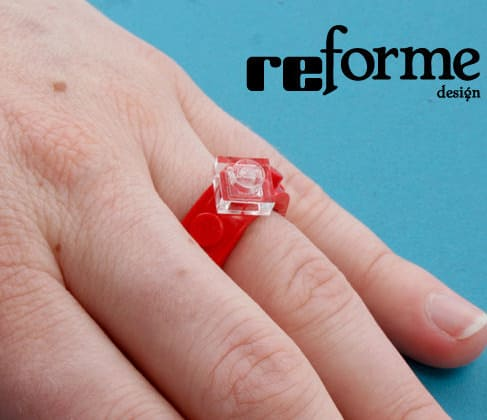 reForme Single Wide Lego Ring Geek Fashion Wear